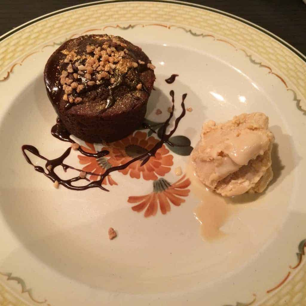 Chokolademuffins med saltkaramelis