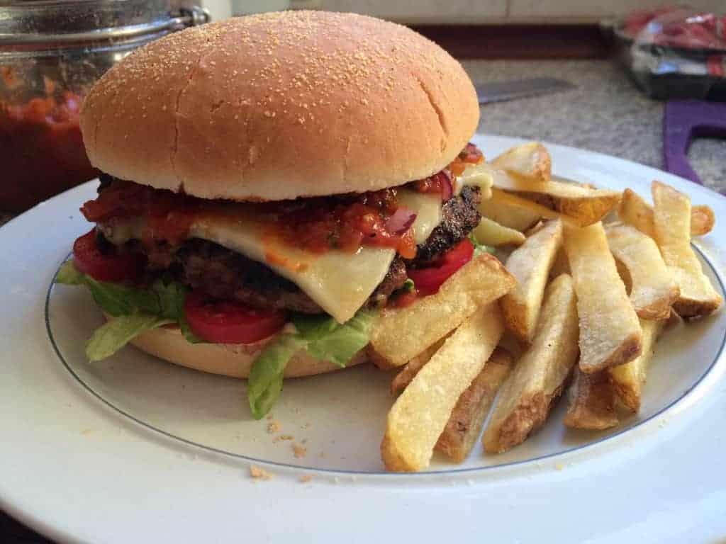 Mmmm .... burger