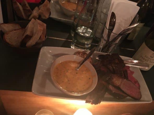 Udskåret Côte de Boeuf med sauce choron