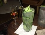 Cognac og Cucumber Collins