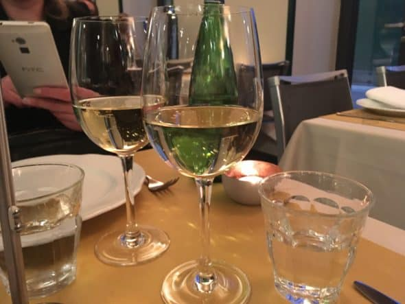 Godt med vin i glassene!