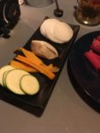Squash, butternut squash, taro og daikon